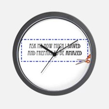 Amazed Wall Clock