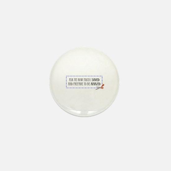 Amazed Mini Button