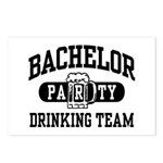 Bachelor Party Drinking Team Postcards (Package of