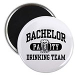 Bachelor Party Drinking Team Magnet