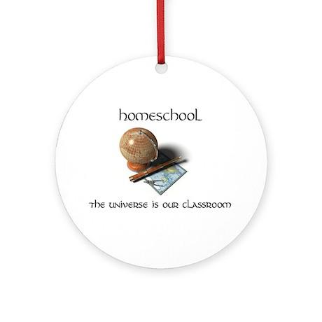 Homeschool Universe Ornament (Round)