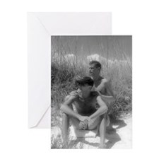 Two in the Dunes Greeting Card