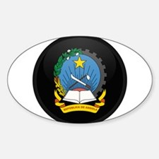 Coat of Arms of Angola Oval Decal