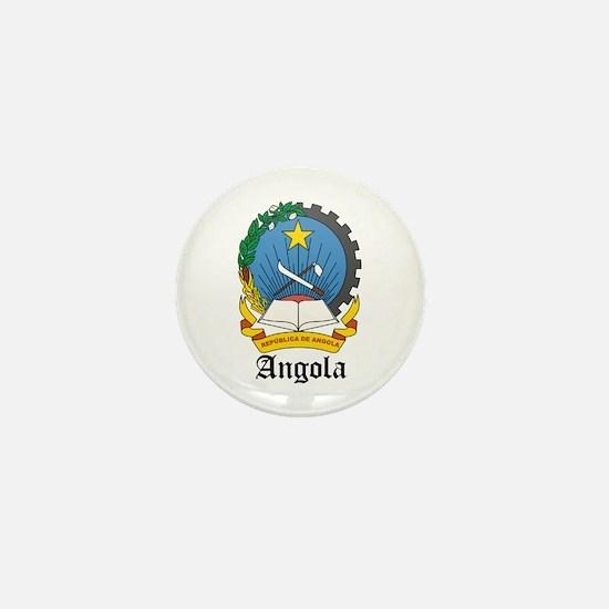 Angolan Coat of Arms Seal Mini Button