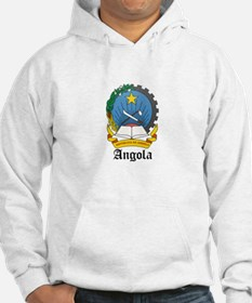 Angolan Coat of Arms Seal Hoodie