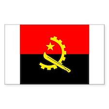 Angolan Rectangle Decal