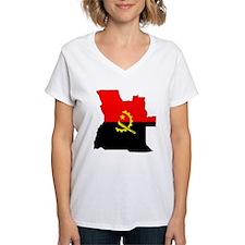 Angola Flag Map Shirt