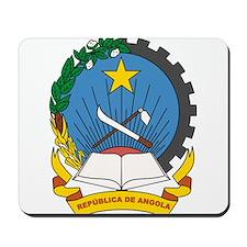 Angola Coat of Arms Mousepad
