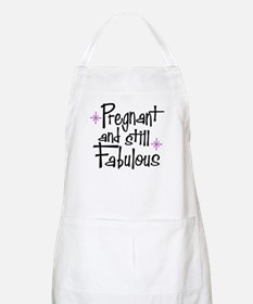 Pregnant and Still Fabulous BBQ Apron