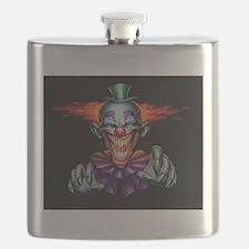 Killer Evil Clown Flask
