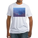 Alaska Scene 4 Fitted T-Shirt