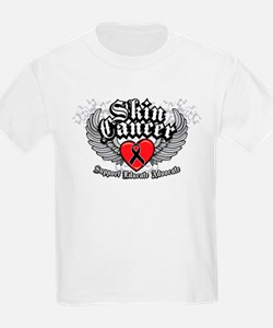 Skin Cancer Wings T-Shirt