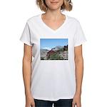 Alaska Scene 5 Women's V-Neck T-Shirt
