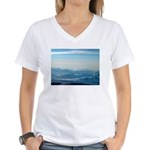 Alaska Scene 2 Women's V-Neck T-Shirt