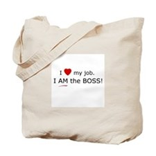 ICRA I'm the Boss Tote Bag