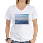 Alaska Scene 1 Women's V-Neck T-Shirt