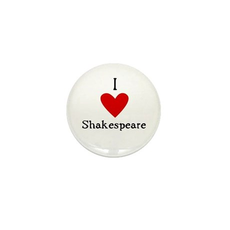 Shakespeare Love Mini Button (100 pack)