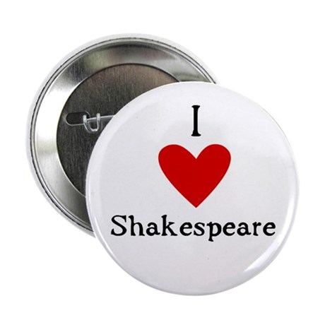 "Shakespeare Love 2.25"" Button (100 pack)"