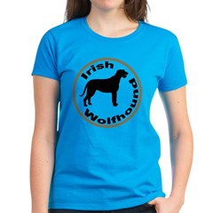 Irish Wolfhound Circle Border Tee