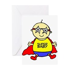 Super Baby! Greeting Card