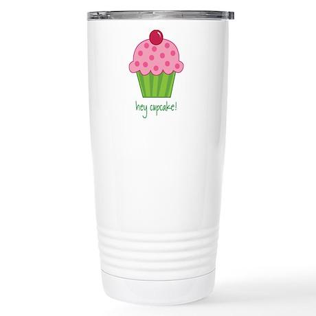 cupcake Stainless Steel Travel Mug