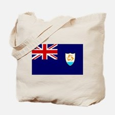 Anguilla Flag Tote Bag