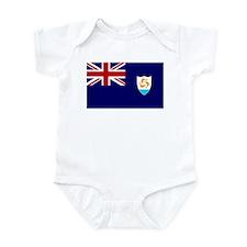 Anguilla Flag Infant Bodysuit