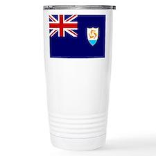 Anguilla Flag Travel Mug