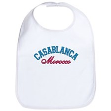 Casablanca Morocco Bib