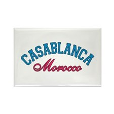 Casablanca Morocco Rectangle Magnet