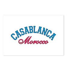 Casablanca Morocco Postcards (Package of 8)