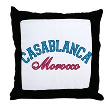 Casablanca Morocco Throw Pillow