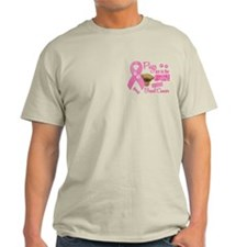 Pugs Against Breast Cancer 2 T-Shirt