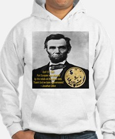 Abraham Lincoln's Pocket Watch Hoodie