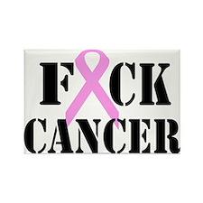 F*CK Cancer Rectangle Magnet