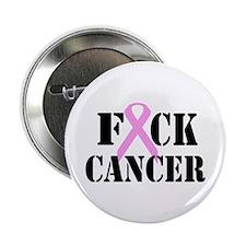 """F*CK Cancer 2.25"""" Button"""