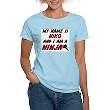 my name is niko and i am a ninja T-Shirt