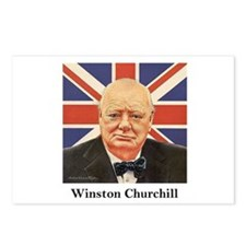 """Winston Churchill"" Postcards (Package of 8)"