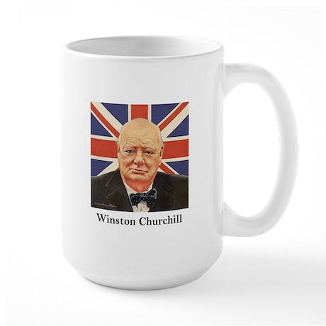 """Winston Churchill"" Large Mug"