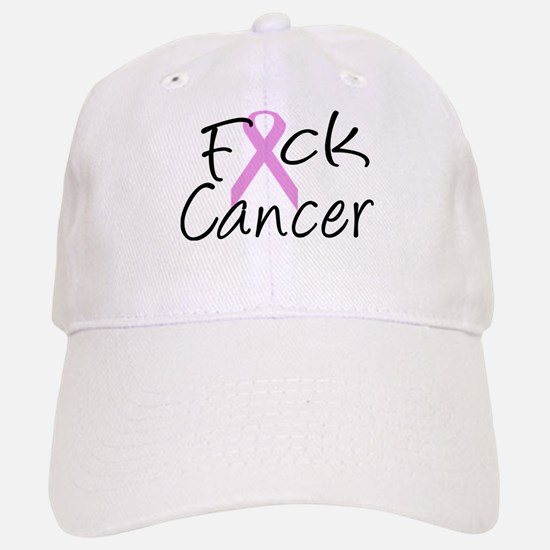 F*CK Cancer Baseball Baseball Cap