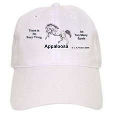 Charging Appaloosa Baseball Cap