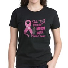 Shih Tzus Against Breast Cancer 2 Tee