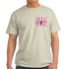 Shih Tzus Against Breast Cancer 2 T-Shirt