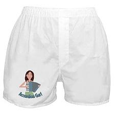 Accordion Girl Boxer Shorts