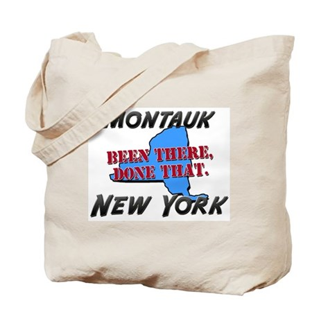 montauk new york - been there, done that Tote Bag
