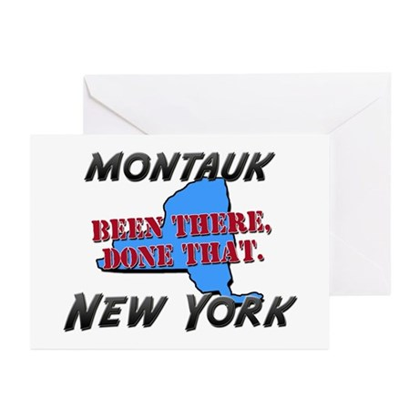 montauk new york - been there, done that Greeting