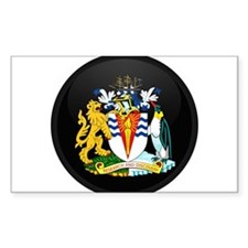 Coat of Arms of Antarctica Rectangle Decal