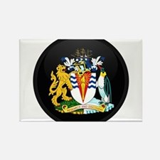 Coat of Arms of Antarctica Rectangle Magnet