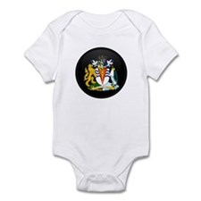 Coat of Arms of Antarctica Infant Bodysuit