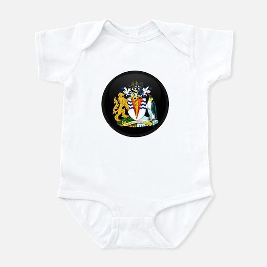 Coat of Arms of Antarctica Infant Bodysuit